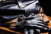Bag Black — Stock Photo