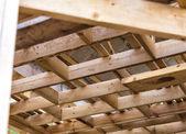 Wooden house — Стоковое фото