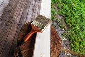 Wood material — Стоковое фото