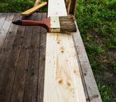 Material de madera — Foto de Stock