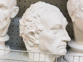 Head of gypsum — Stock Photo