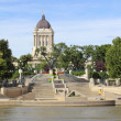 Legislative Building, Winnipeg, Manitoba — Stock Photo