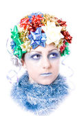 Christmas Fairy — Stock Photo