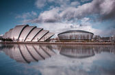 Glasgow City Skyline — Stock Photo