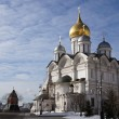 Moscow, Kremlin, Archangelic cathedral. - Stock Photo