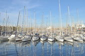 Barcelona yachts — Stock Photo