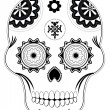 Sugar skull — Stock Photo