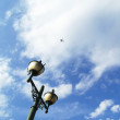 Street lamp and sky — Stock Photo