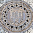 Manhole cover — Stock fotografie
