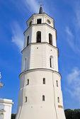 Belfry near Vilnius Cathedral Basilica — Stock Photo