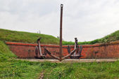 Old anchors — Zdjęcie stockowe