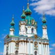 St. Andrew's Church, Kiev, Ukraine — Stock Photo #25892065