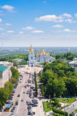 St. michael golden domed monastery — Stock Photo