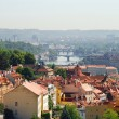 View of Prague and river Vltava, Czech Republic — Stock Photo #26098365