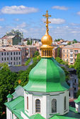 The dome of St. Sophia cathedral — Stock Photo