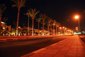 Night view of Sharm el-Sheikh — Stock Photo
