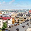 Panorama of Kiev city center — Stock Photo