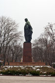 Soviet monument to Shevchenko in Kyiv, Ukraine — Stock Photo