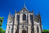 St. Barbaras Cathedral, Kutná Hora, Czech Republic — Foto de Stock