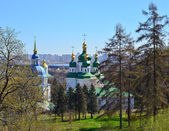 View of Vydubychi Monastery — Foto de Stock