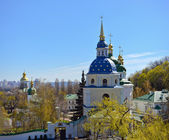 View of Vydubychi Monastery — Stock Photo