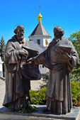 Monument to Cyril and Methodius — Stock Photo