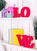 "Letters  ""Love""  — Stockfoto"