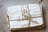 Cartas de amor vintage — Foto Stock