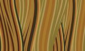 Linee di colore marrone e verde astratto — Vettoriale Stock