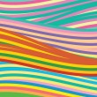 Abstract vector background with colored lines — Vettoriali Stock