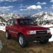 Toyota Land Cruiser — Foto de Stock