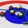 Foto de Stock  : Curling