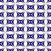 Geometrické černé a bílé vzor — Stock vektor