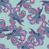 Seamless paisley pattern. Trendy modern wallpaper or textile background — Cтоковый вектор