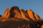 Spitzkoppe 在纳米比亚的全景图 — 图库照片
