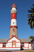 The lighthouse in Swakopmund, Namibia — Stock Photo