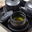 Japanese style tea set — Stock Photo