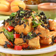 Fried tofu — Stock Photo