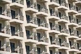 Hotel balkong — Stockfoto
