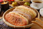 Ox-tongue-shaped pastry — ストック写真