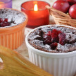 Chocolate Souffle — Stock Photo