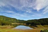 Alpine Lake — Stock Photo