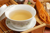 Ginseng tea — Stockfoto