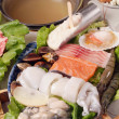 Seafood hot pot — Stock Photo #27068999
