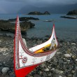 Stock Photo: Lanyu canoe