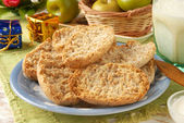 Wheat crackers — Foto Stock