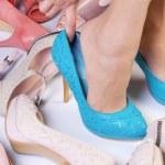 High-heeled shoes — Stock Photo #28028971