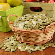 Stock Photo: Pumpkin seeds