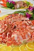 Steamed crabs — Stock Photo