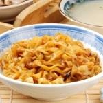 Dry noodles — Stock Photo